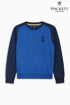 Hackett Blue No. 1 Crew Neck Top