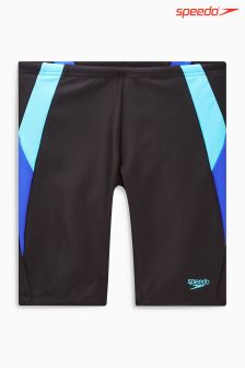 Speedo® Black/Blue Colour Block Jammer Short