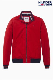 Hilfiger Denim Red Bomber Jacket