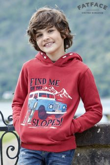 Fat Face Cherry Popover Hoody