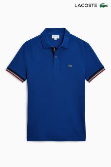 Lacoste® Blue Tipped Polo
