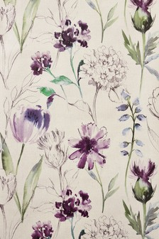 Paste The Wall Watercolour Floral Wallpaper Sample
