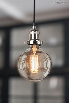 Culinary Concepts Silver Light Fitment For Bulbs