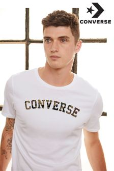 Converse White Camo Star T-Shirt
