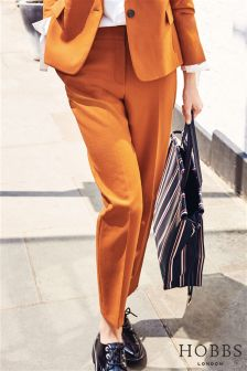 Hobbs Orange Odella Trouser