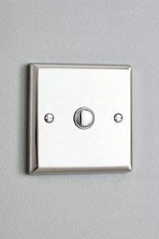 Chrome Single Touch LED Dimmer Switch