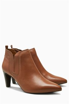 Leather Comfort Shoe Boots