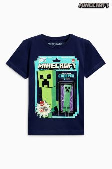 Minecraft Creeper Toy T-Shirt (4-14yrs)