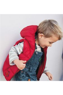 Badged Gilet (3mths-6yrs)