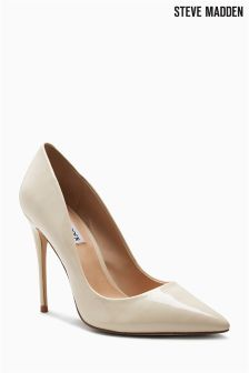 Steve Madden Nude Daisie Pointed Court Shoe