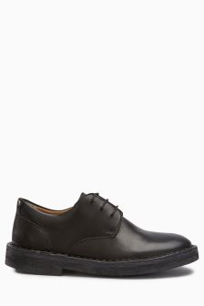 Leather Derby Shoes (Older Boys)