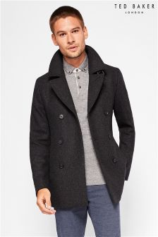 Ted Baker Charcoal Peacoat
