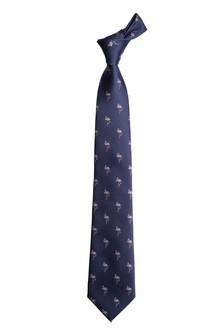 Flamingo Pattern Tie