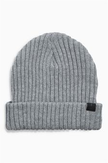 Rib Beanie Hat (Older Boys)
