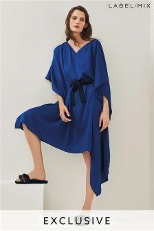 Mix/Osman Oversized Drape Dress