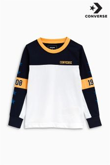Converse Long Sleeved Colourblock Tee