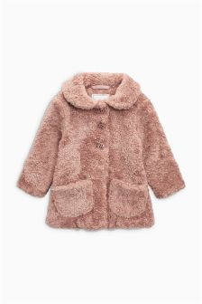 Faux Fur Jacket (3mths-6yrs)