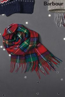 Barbour® Red Check Wimbrel Scarf