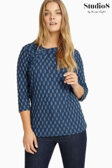 Studio 8 Blue Caroline Top