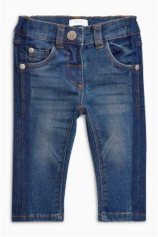 Side Stripe Jeans (3mths-6yrs)