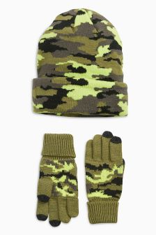 Camo Two Piece Set (Older Boys)