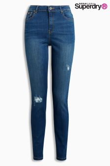 Superdry Sophia High Waisted Super Skinny Ripped Jean