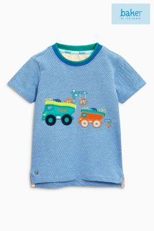 Baker By Ted Baker Blue Truck Appliqué Tee