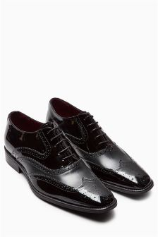 Signature High Shine Brogue