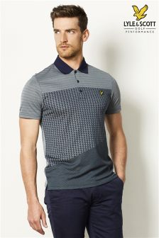Lyle & Scott Check Polo