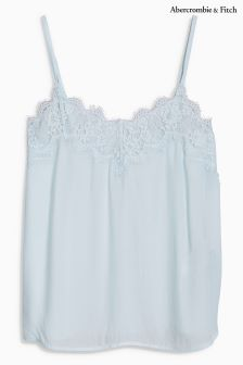 Abercrombie & Fitch Light Blue Lace Cami