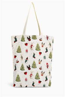 Christmas Print Shopper