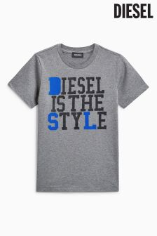 Diesel Grey In The Style T-Shirt