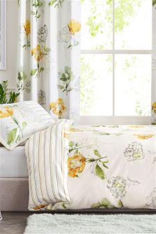 Cotton Sateen Digital Floral Bed Set