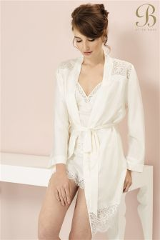 B By Ted Baker Tie The Knot Bridal Kimono Robe