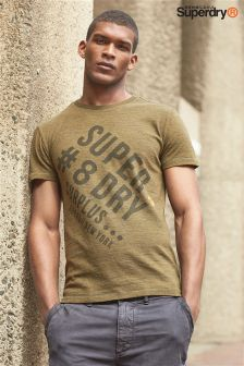 Superdry Khaki Graphic T-Shirt