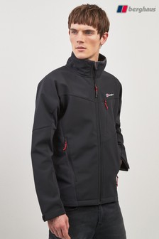 Berghaus Black Ghlas Softshell Jacket