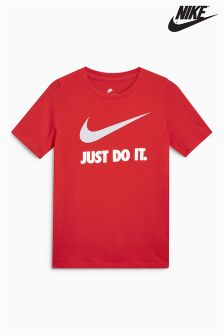 Nike Just Do It Swoosh Logo Tee