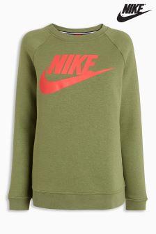 Nike Khaki Rally Crew