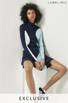 Mix/Caitlin Price Panelled Jersey Dress