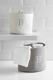 Set of 2 Initial Storage Bags