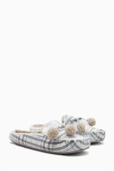 Moccasin Mule Slippers