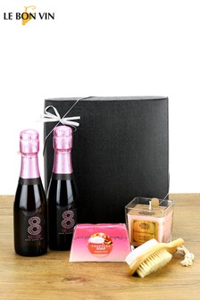 Sparkling Rose Mini Break Spa Kit