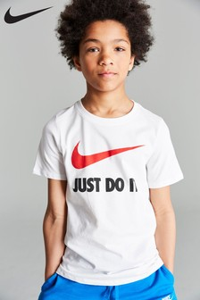 Nike Just Do It. Swoosh Logo T-Shirt