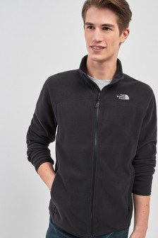 The North Face® Black Glacier Full Zip Jacket