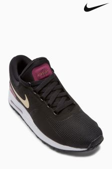 Nike Black/Pink/Gold Air Max Zero