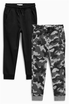 Super Skinny Fit Joggers Two Pack (3-16yrs)