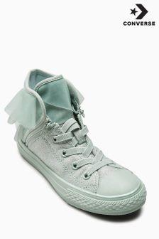 Converse Mint Sparkle Frill Hi