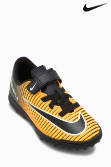 Nike Laser Orange Mercurial X Vortex Velcro Turf