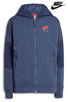 Nike Air Blue Windbreaker Jacket