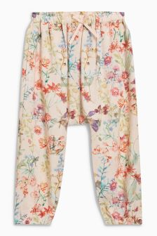 Floral Trousers (3mths-6yrs)